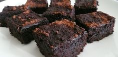 Paleo brownies- delicious even if you don't eat paleo. Tastes like a not too sweet, flourless chocolate tart.