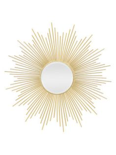 Sunburst Mirror from Hollywood Glam Décor on Gilt