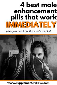 Looking for a male enhancement pill that works immediately, AND you can take with alcohol? I've personally tested 67 different ED pills that claim this, here are the 4 BEST. Male Enhancement Exercises, Enhancement Pills, Training Motivation, Fitness Motivation Quotes, Supplements For Anxiety, Men Health Tips, Workout Challenge, Workout Programs, Training Programs