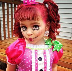 Lalaloopsy Makeup & sew cute costume! | Sew Cute Lalaloopsy Costumes …