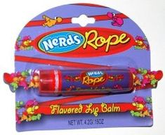 Nerds Candy Rope Flavored Lip Balm