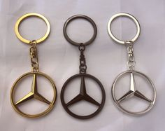 Items similar to Mercedes Benz Merc Keyring Black Chome Gold Keychain Ideal Gift on Etsy Mercedes W126, Mercedes Benz Autos, Mercedes Benz Logo, Mercedes World, Mercedes Black, Car Interior Decor, Gold Chrome, Round Logo, Black Series
