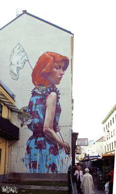 Bezt New Mural For Inoperable - Vienna, Austria
