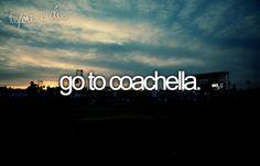 this year STAGECOACH, next year Coachella