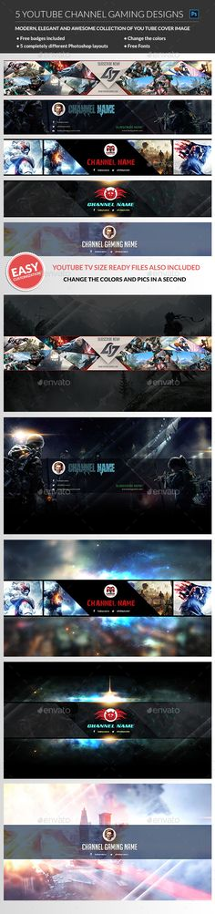Games Banner Awesome 69 New Ideas Youtube Banner Design, Youtube Design, Youtube Banners, Youtube Hacks, Youtube Gamer, Youtube Youtube, Social Media Template, Social Media Design, Graphic Design Programs