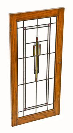 Luxury Leaded Glass Cabinet Doors Decor