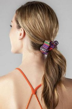 Mexicali Printed Scrunchie