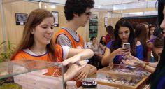 Feira traz várias atividades interativas no intuito de esclarecer as dúvidas de alunos do ensino médio e vestibulandos sobre as carreiras que desejam seguir.