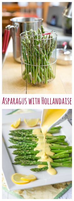 Spring Asparagus with Hollandaise
