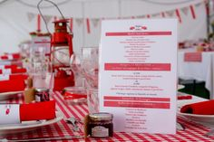 Wedding Event Ideas, Tips and DIY Planning Checklist French Wedding, Red Wedding, Wedding Events, Wedding Day, Deco Champetre, Deco Table, Married Life, Wedding Guest Book, Something To Do