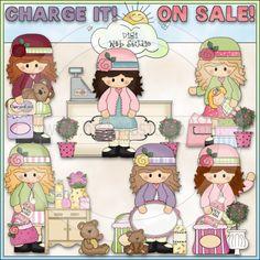 Alyssa Loves A Sale 1 - NE Cheryl Seslar Clip Art : Digi Web Studio, Clip Art, Printable Crafts & Digital Scrapbooking!
