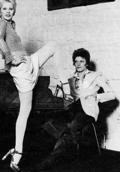 Angie et David Bowie