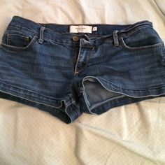Abercrombie & Fitch Jean shorts Classic jean shorts Abercrombie & Fitch Shorts Jean Shorts