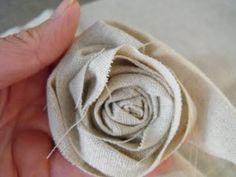 diy fabric rosettes and more!   make handmade, handmade