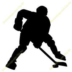 Ice Hockey Player Clip Art