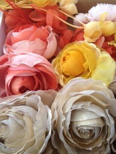 Flores de seda