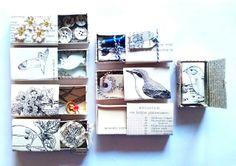 Mme Nosenose loves mail: Vintage matchbox snailmail