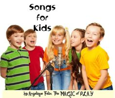 20 free educational songs for kids - easy learning english   AngeliqueFelix.com #songs #kids @buzzmyvideos @YouTube