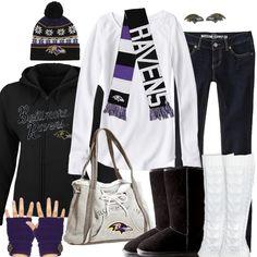 Baltimore Ravens Winter Fashion