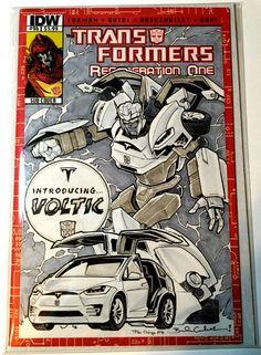 Tesla Transformers... nice!