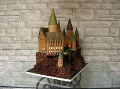 Hogwarts gingerbread house!