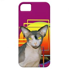 iPhone 5 Case | Sphynx Cat Ninja  Transparent