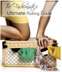 """This is exactly what I've been looking for! The same blogger that wrote """"50 for a Fashionista"""" creates """"The Fashionista's Ultimate Packing Guide"""" including every piece she brought to her study abroad experience and complete with a daily outfit log of the outfits she made with what she brought. Plus, everything you need to know for traveling in a tres chic manner!"""
