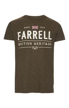 Primark - Farrell Khaki British Heritage T-Shirt