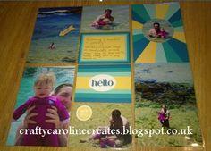 CraftyCarolineCreates: Star Burst Card