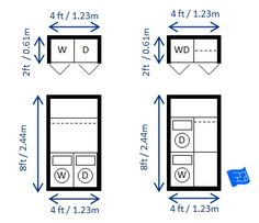 how tall is a stackable washer and dryer washer dryer sizes