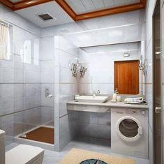 Si tienes la posibilidad de contar con una mesada en la zona de la pileta, mide bien el espacio antes de comprar la bacha. Es que quizá en este lugar puedas colocar el lavarropas!
