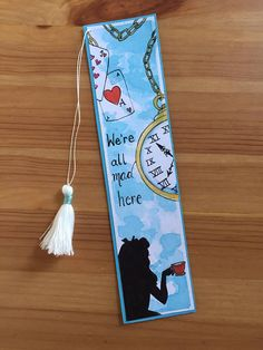 Disney Bookmarks, Bookmarks Quotes, Creative Bookmarks, Cute Bookmarks, Bookmark Craft, Paper Bookmarks, Origami Bookmark, Watercolor Bookmarks, Book Markers