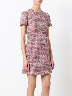 Alexander McQueen tweed dress