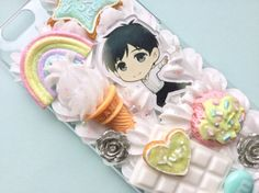 Yuri on ice-cream Decoden case for iPhone 6/6s by ChiyokoDecoden