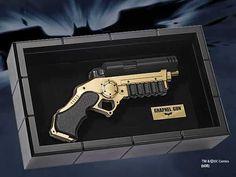 Réplica Pistola Batman: The Dark Knight. Grapnel Gun, 40cm