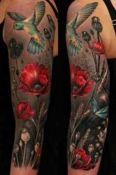 flowers tattoo beautiful