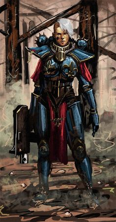 Warhammer 40k Rpg, Warhammer 40k Miniatures, Warhammer Fantasy, Sisters Of Silence, Deathwatch, Space Wolves, Sci Fi Characters, 4 Sisters, Game Workshop