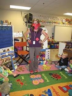 labeling the teacher