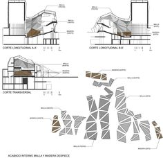 Teatro Municipal Chacao / ODA Urban Architecture, Architecture Portfolio, Section Drawing, Dance Studio, Concert Hall, B & B, Planer, Opera House, Mall