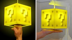 Touch-sensitive coin block lamp. Yes please.