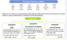 Preposicións en galego