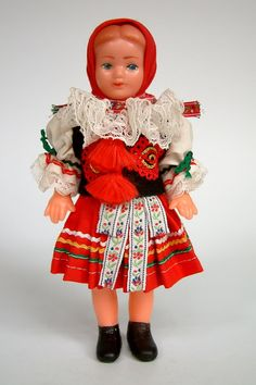 Czechia Doll from Vlcnov