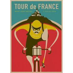 Nouvelles affiches vintage à découvrir ! tour de france vintage rétro cyclisme