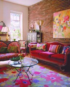 Indigo Blue Peacock Blue Living Room Interior Design