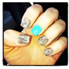 Chanel west coast nails! I want my nails like this!!! :)