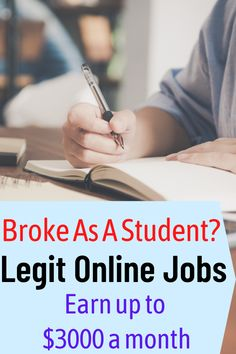 Want legit online jobs teens to make money? These work at home jobs for college students and teens with little or no experience that you can start right now