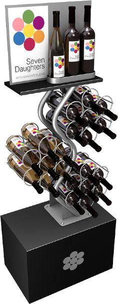 wine merchandising displays - Google Search