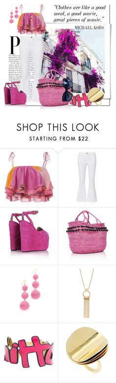 """You Can Quote Me On That_Fashion Paradise"" by msmith801 ❤ liked on Polyvore featuring Sensi Studio, Kenneth Jay Lane, Louis Vuitton, Elizabeth and James and Christian Dior"