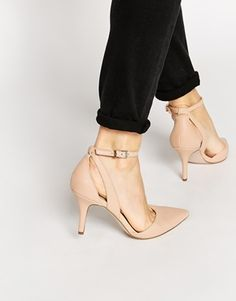 ASOS STAGE-STRUCK Heels - Perfect nude shoes for everyday wear - http://www.asos.com/ASOS/ASOS-STAGE-STRUCK-Heels/Prod/pgeproduct.aspx?iid=4834265&affid=13875&channelref=social+campaigns