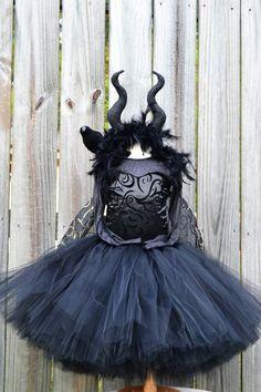 Maleficent tutu dress costume